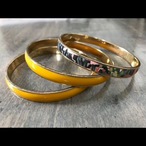 J. Crew Bangle Bracelets (set of 3)